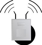 Basiseinheit vom WLAN Überwachungskamera Set